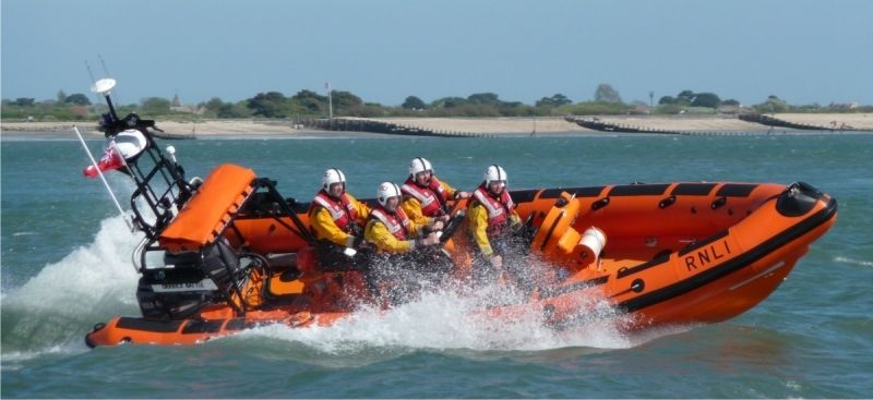 man rescued by lifeboat told to get a taxi to hospital