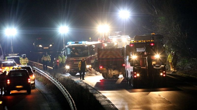 police appeal for witnesses after fatal lorry crash near chichester