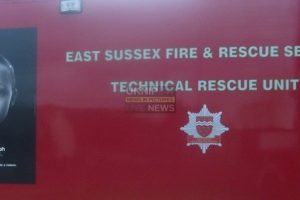 fire crews rescue woman after car ploughs into building in st leonard