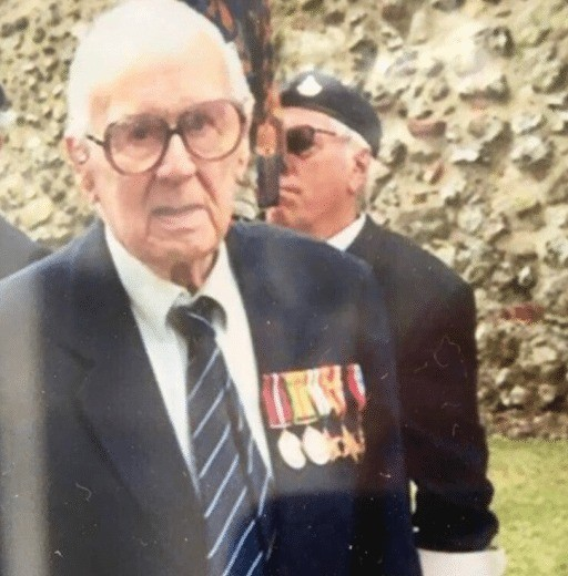 chichester pensioner has medals stolen whilst he slept