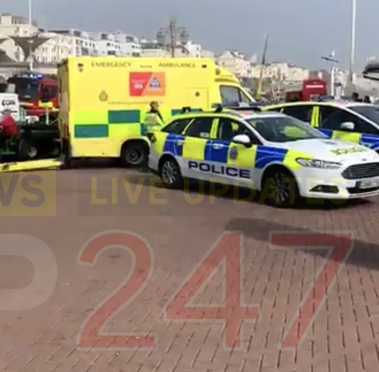 four hurt after ride comes loose on brighton pier 2