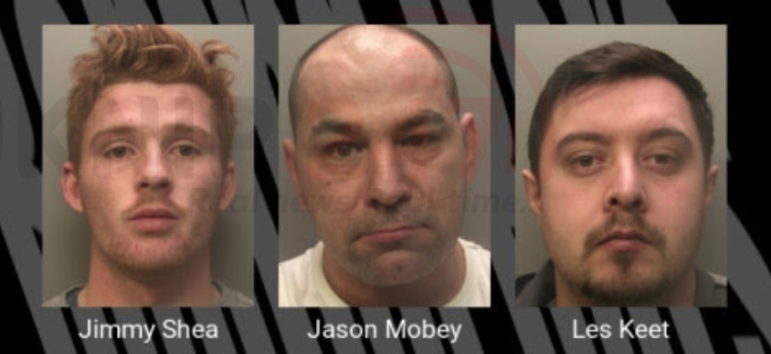 atm raiders jailed for a total of 30 years after 15 million of damage cash theft