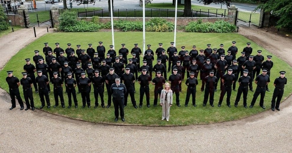 it a start 72 new officers take to streets across sussex
