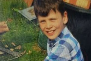 major search for missing nine year old