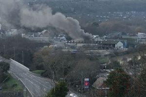 fire crews called to tackle blaze on lewes industrial estate 2