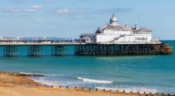 police find body of a woman on beach in eastbourne