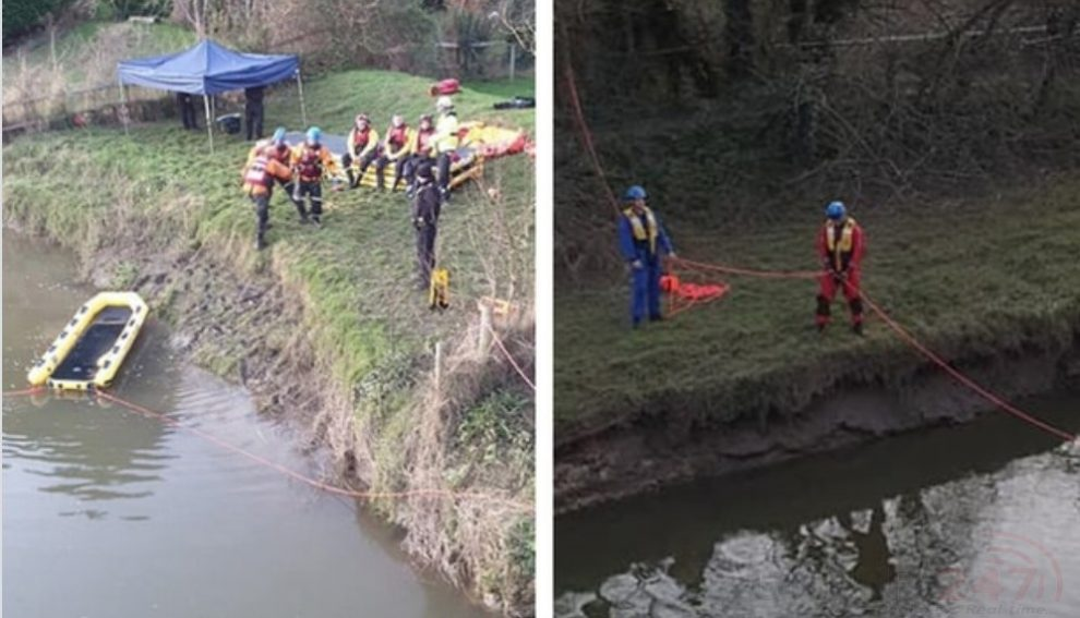 sussex police have found a dead body but can confirm it is not the body of a missing orpington firefighter
