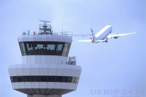 control tower with aircraft 11111