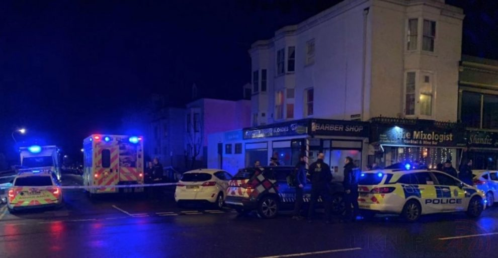 doorman stabbed at misty cocktail bar hove