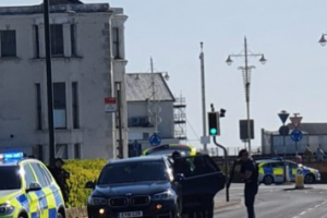 A man has been arrested after an eight hour stand-off with police in Bognor Regis