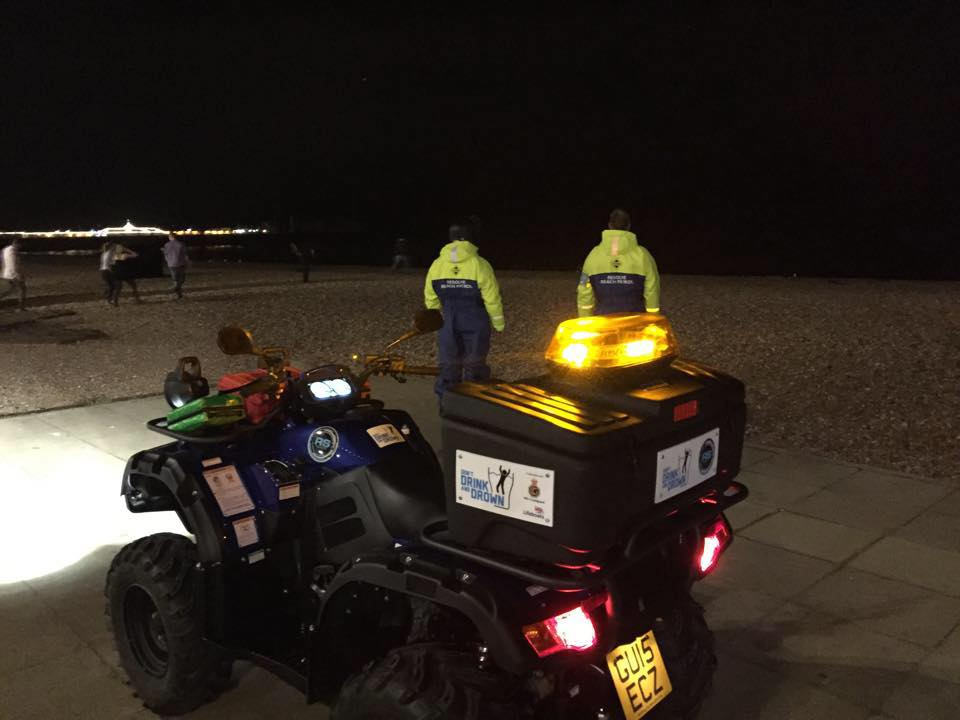 Brighton Beach Patrol Locate Suicidal Female On Beach