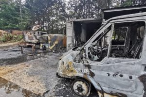 Business left in ashes after chainsaw theft