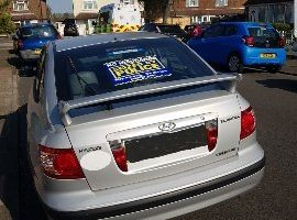 Car Stooped and Seized in Worthing