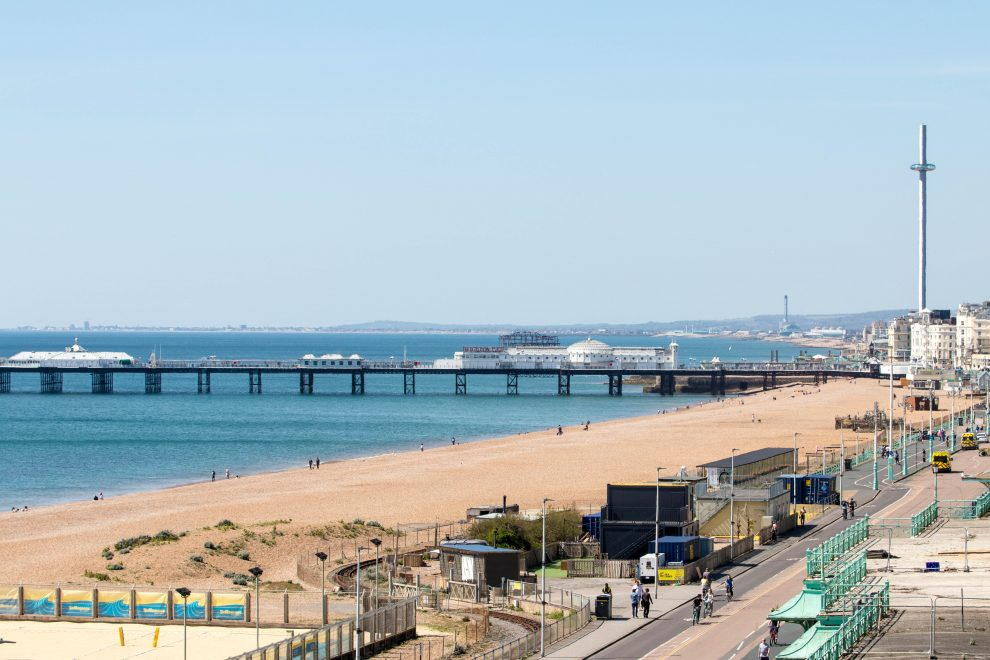 Extra safe space to be created on Brighton seafront