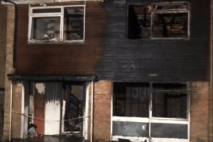 Family in Crawley lose everything after late night blaze