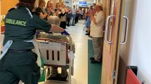 First patient who had COVID19 leaves Bognor Hospitial