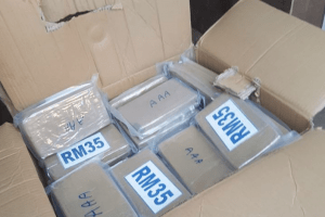 Five people have been arrested and cocaine worth more than £2 million has been seized
