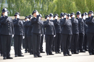 Police ranks across England and Wales have been bolstered with an additional 3,005 officers since the government launched a major recruitment drive