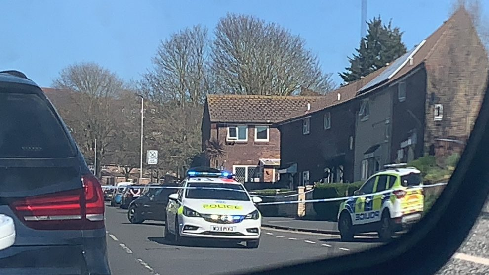 Police respond to Stabbing Incident in Brighton Credit Rob Carron