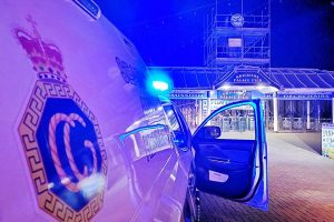 Scuba diver ticked off after being found  under Brighton Palace Pier