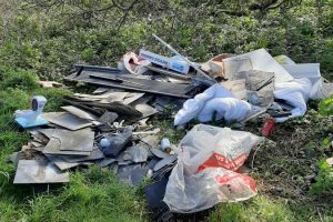 Second person issued Fine for Fly tipping in Telscombe