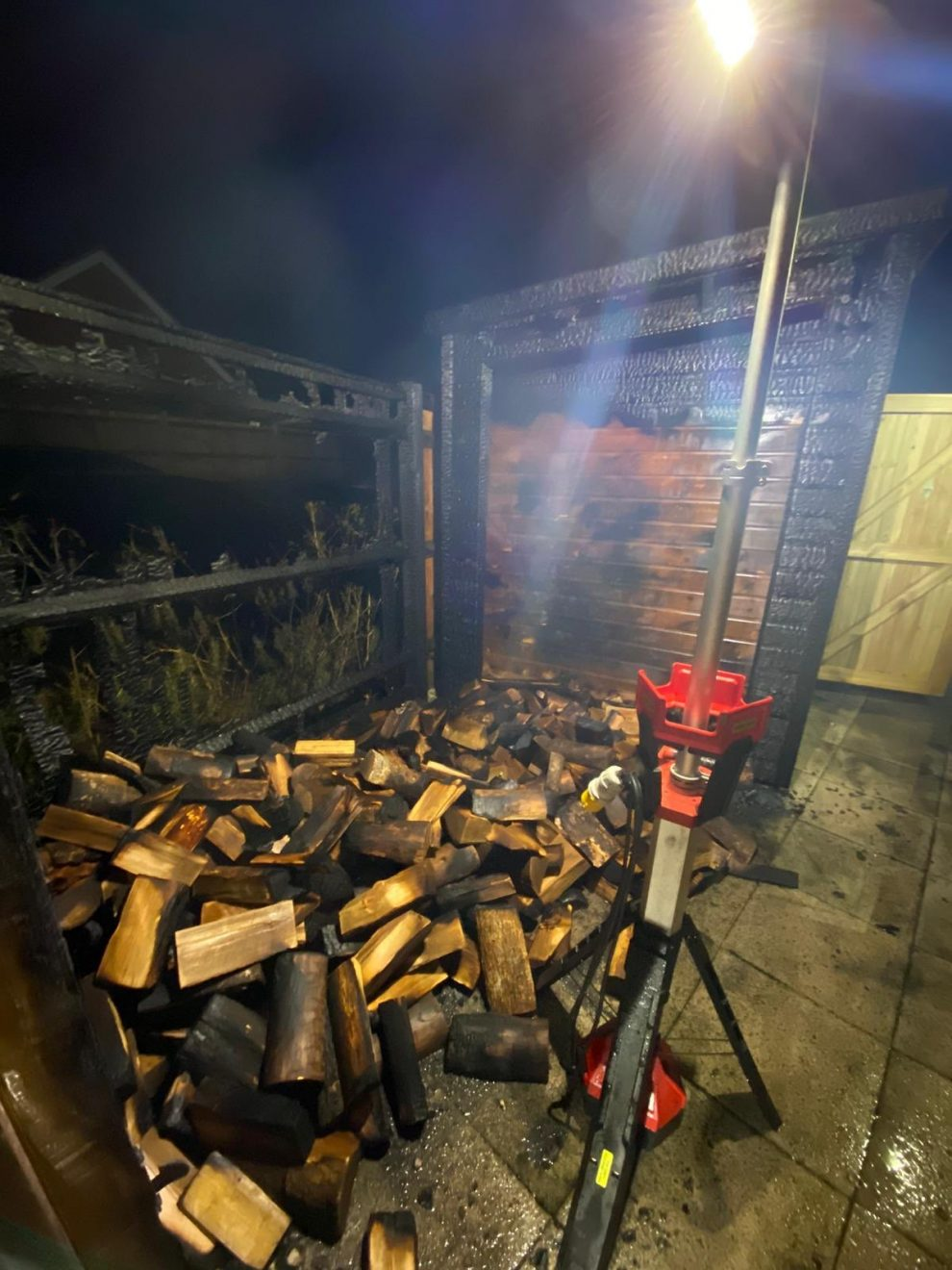 Shed Fire in loxwood