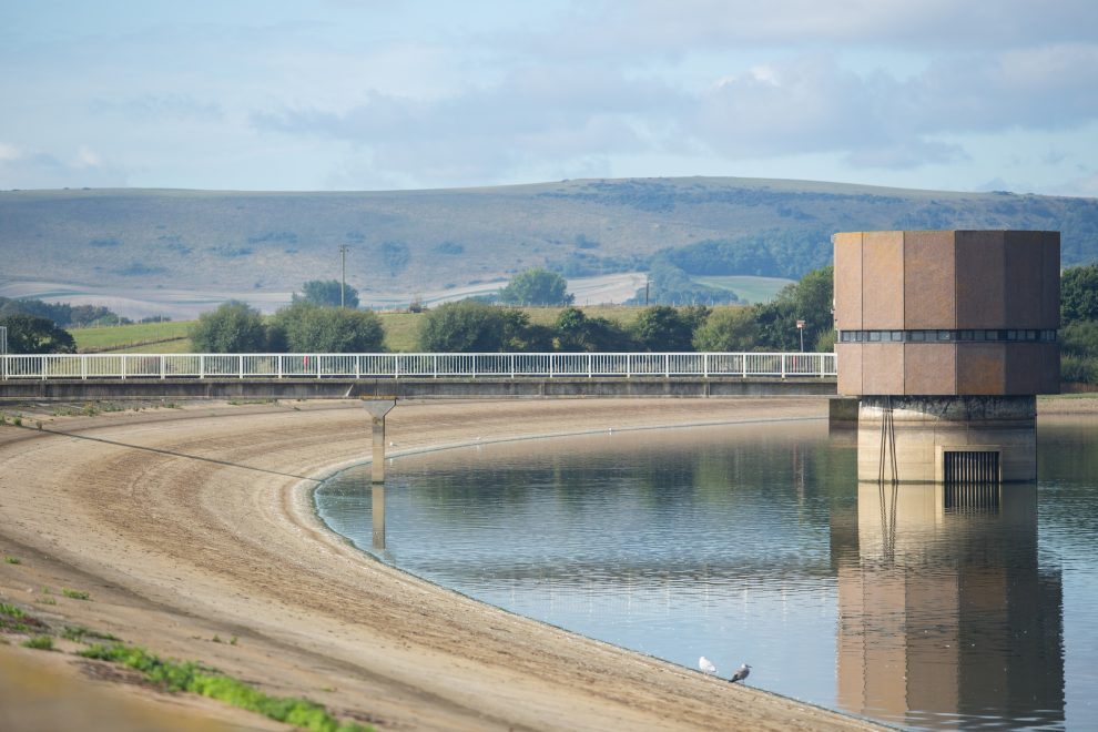 A water company is ramping up security at its reservoirs following a spate of safety breaches.