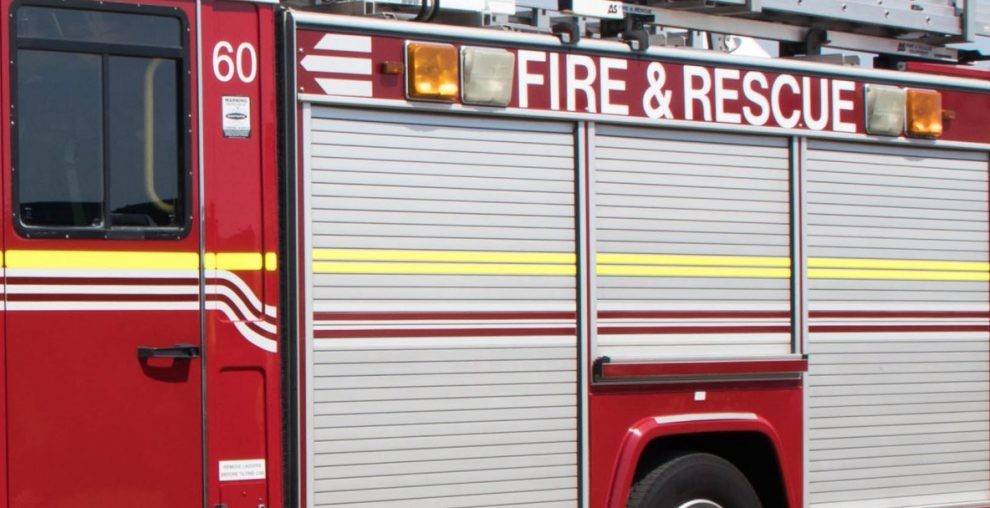 Blaze engulfs a 2 story Building in Brighton just after Midnight