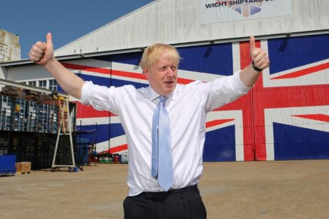Boris answers the big question that people have been asking in the last 48 hours