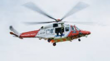 Coastguard helicopter pulls body from Seaford head