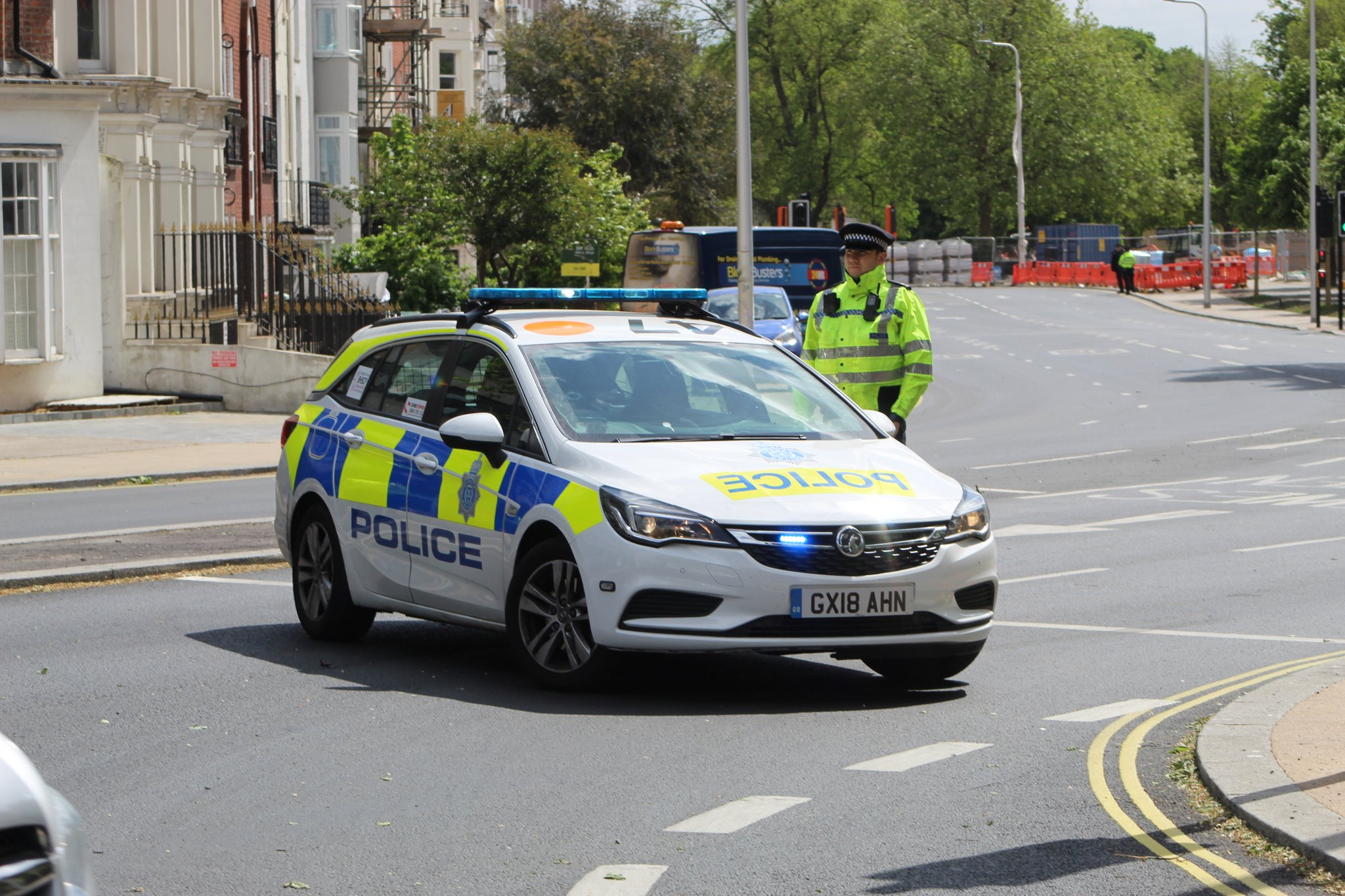 Controlled explosion carried out in Brighton this afternoon