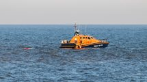 Emergency services scrambled to rescue 3 kayakers  off Seaford Head