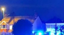 Fire at a residential dwelling in Bognor