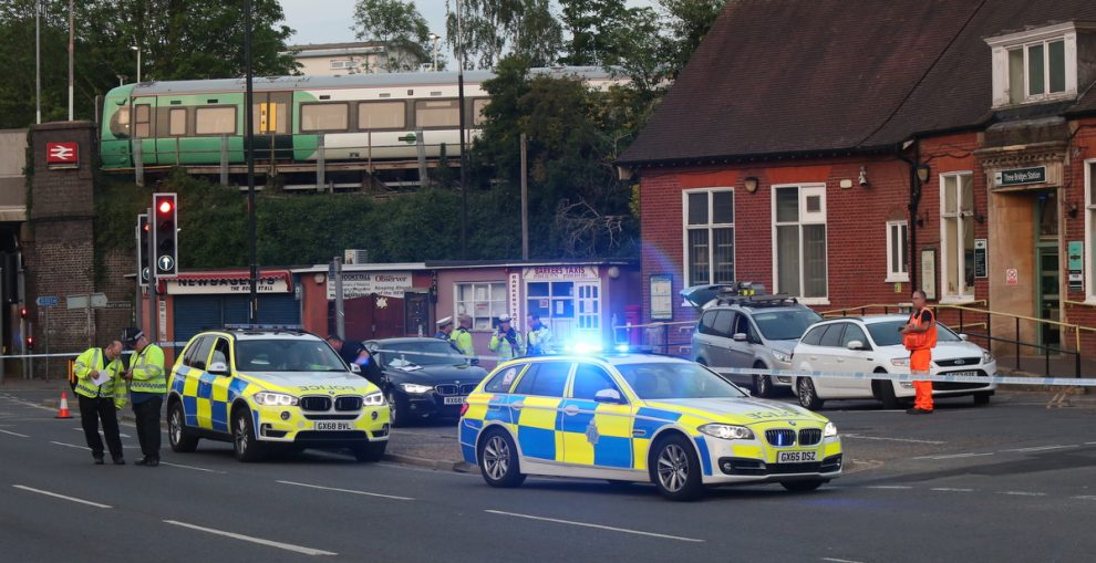Manhunt launched  for Hit and Run driver after fail to stop at Three Bridges Station