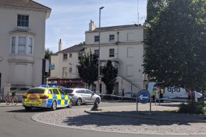 Pedestrian seriously injured in a collision at Seven Dials Brighton