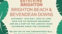 Picnic of Death on the beach is nothing to do British Freedom Movement  says leader