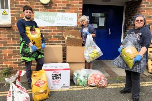 Police donation to support homeless charity in Chichester and Arun