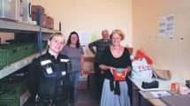 Police support Chichester foodbank with £1000 charity donation