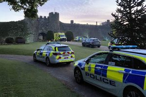 Thermal image camera assists in the arrest of two people at Amberley Castle
