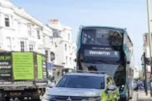 Two arrested after woman stabbed in broad daylight attack in centre of Brighton