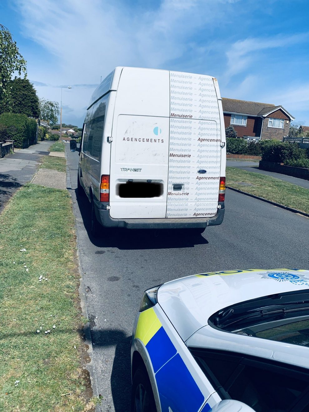 Two charged with theft offences in Peacehaven