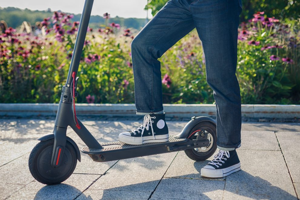 A quick message about e-scooters
