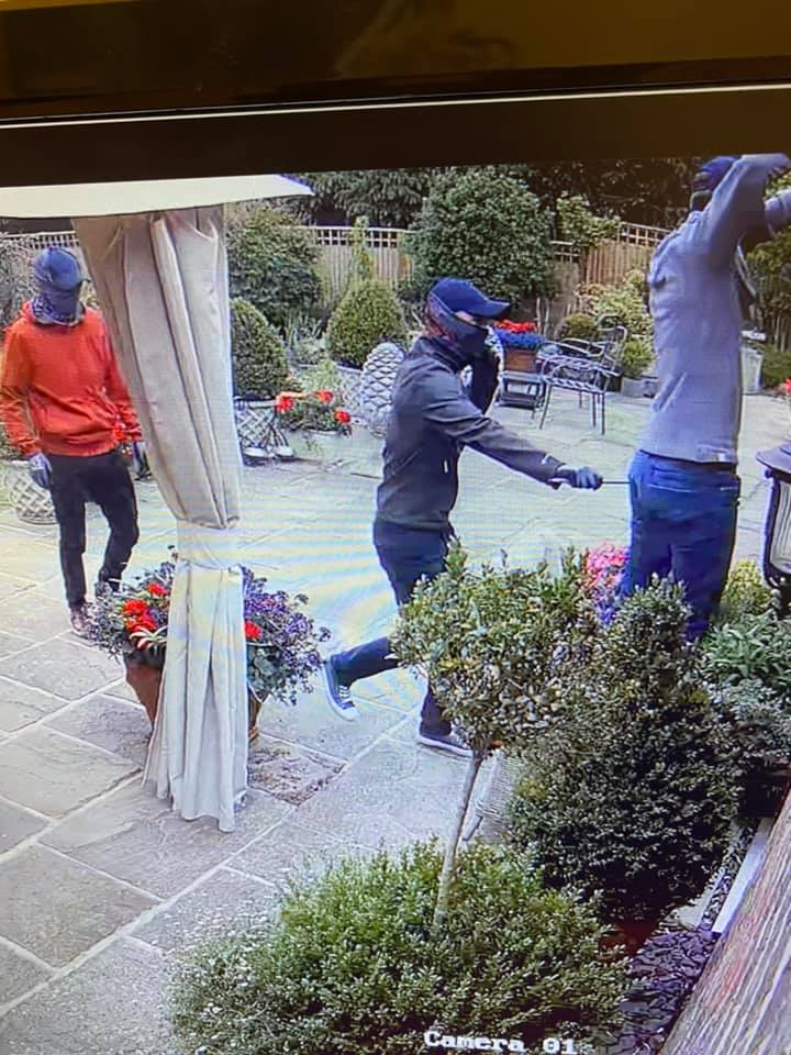 Attempted to break into a house in Mill Lane Partridge Green.