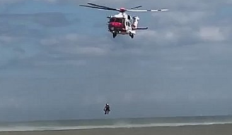 """Coastguard said it is responding to a report of """"multiple persons in the water"""" off Dymchurch"""