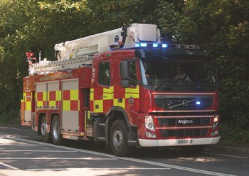 East Sussex Fire crews called to Three Storey property a blaze in Hastings