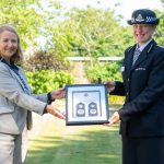 Jo Shiner welcomed as Chief Constable with formal ceremony