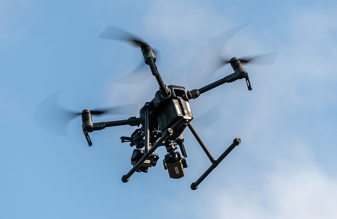 Officers assisted by police dog and drone following incident in Goring