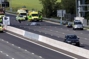 Police appeal for witnesses  to come forward after fatal on the M23 in Surrey
