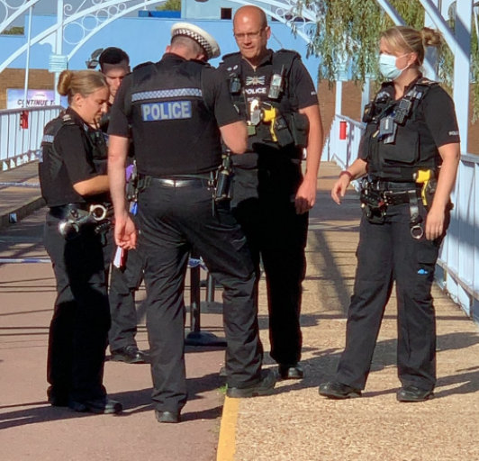 Police have  charged man  after Thorpe Park Stabbing attack