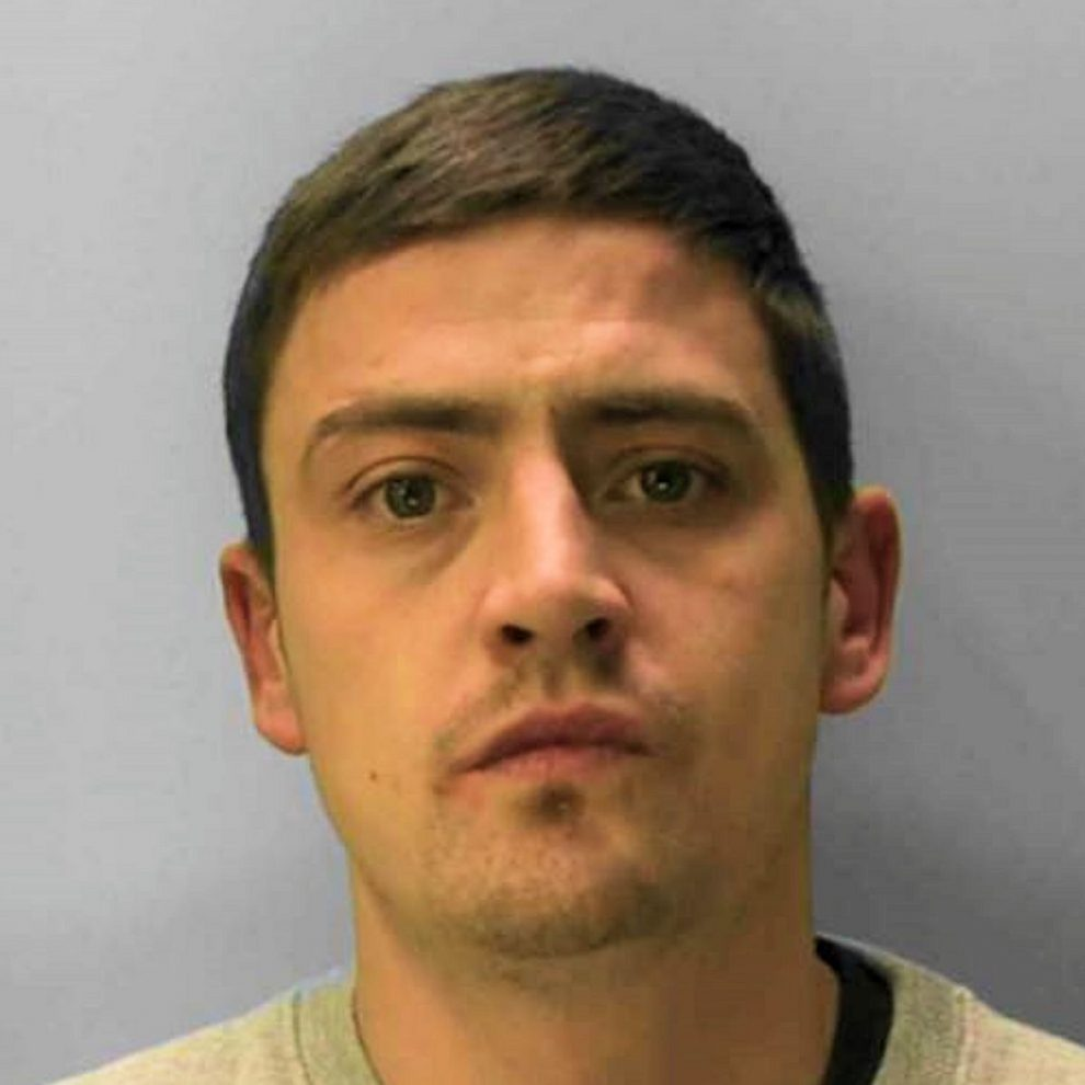 Police searching for prison absconder James Hutton who was sentaced to assault on an emergency worker amongst other things